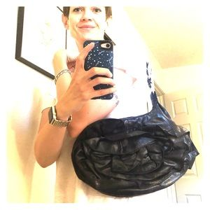 YSL authentic ruffle purse